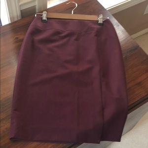 🌀Antonio Melani Pencil Skirt Maroon $25.00 EUC